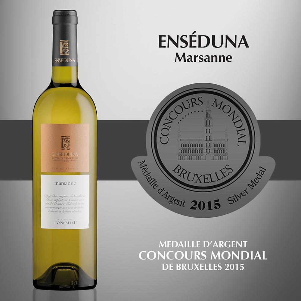 Enséduna Marsanne - IGP Coteaux d'Ensérune