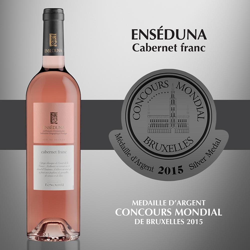 Enséduna Cabernet Franc - IGP Coteaux d'Ensérune