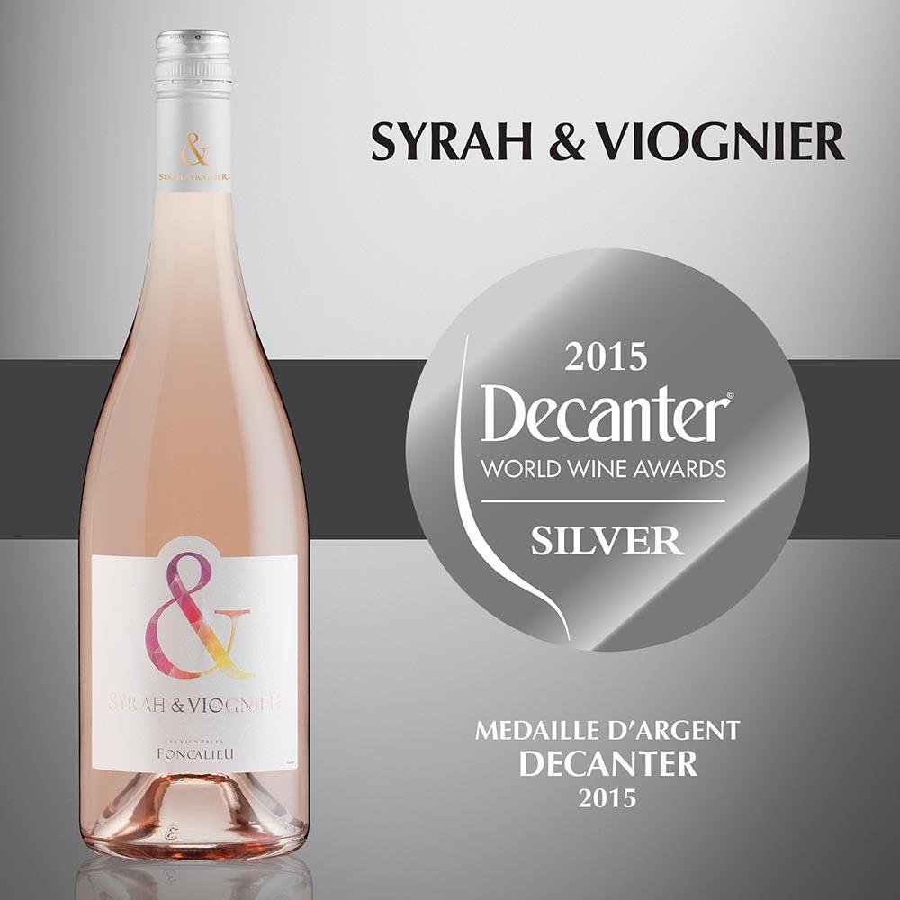 Syrah & Viognier Rosé - IGP Pays d'Oc