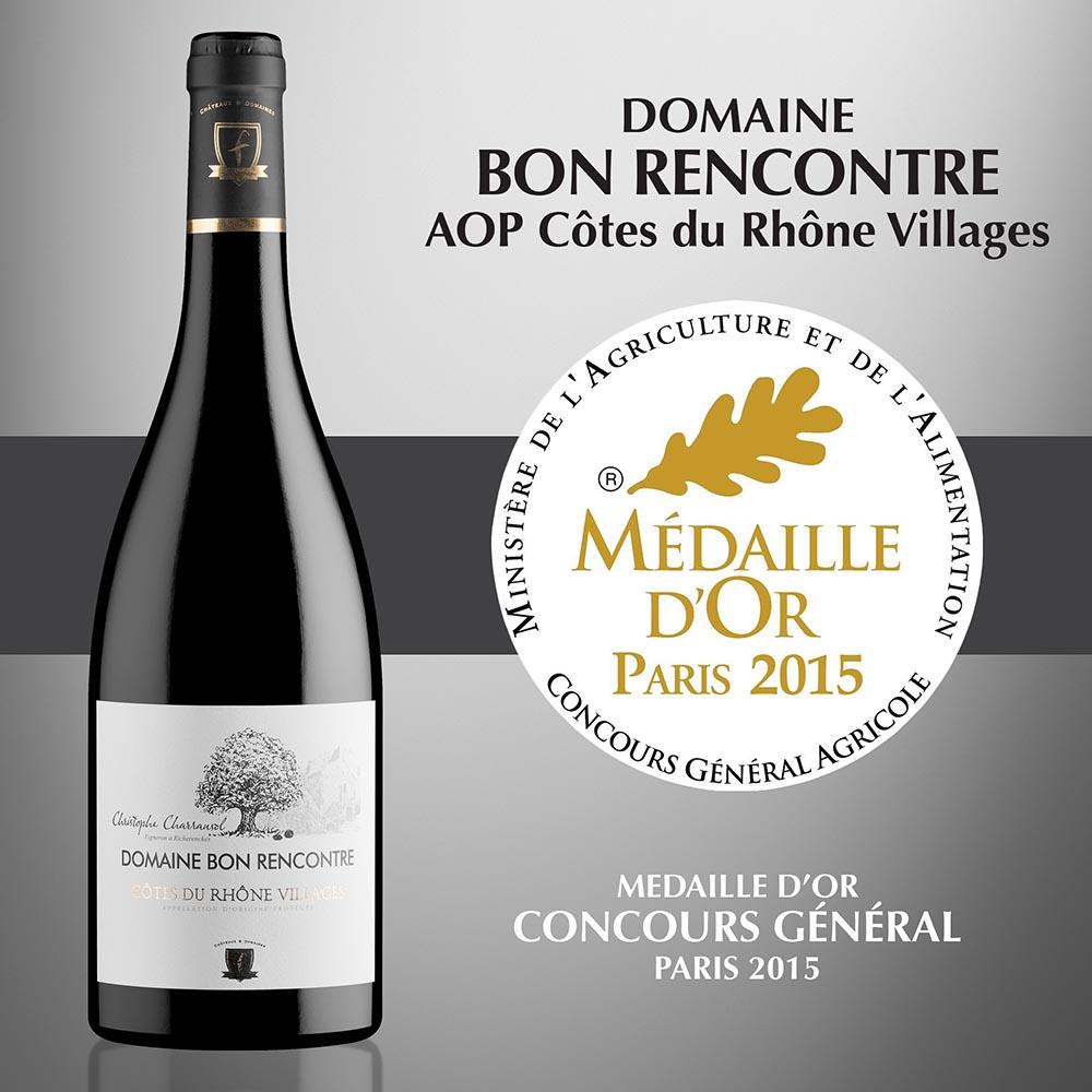 Domaine Bon Rencontre - AOP Côtes-du-Rhône Villages