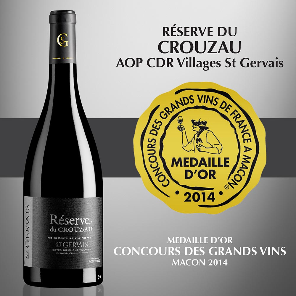 Réserve du Crouzau - AOP Côtes-du-Rhône Villages Saint Gervais