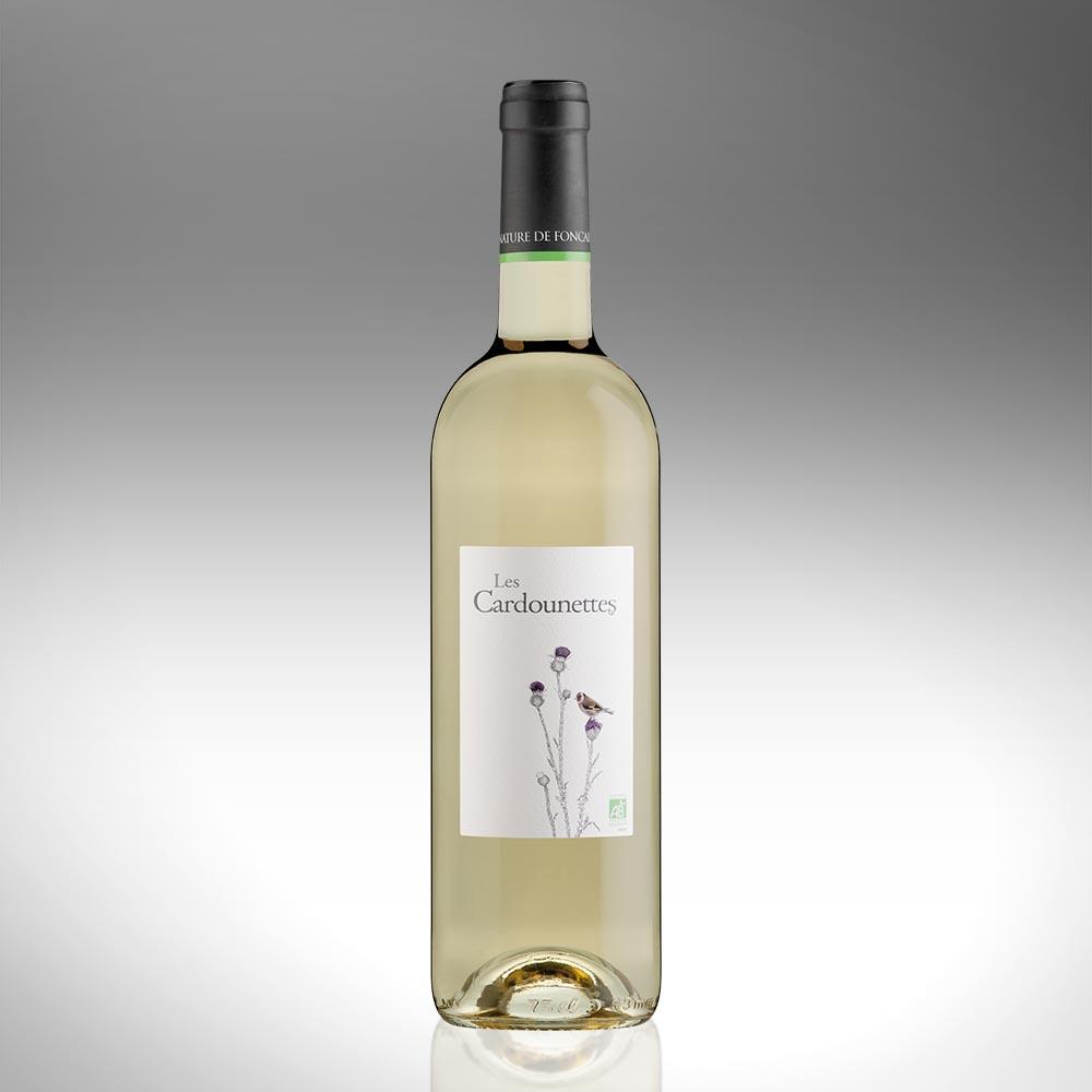 Les Cardounettes Blanc - IGP Pays d'Oc - Vin Biologique