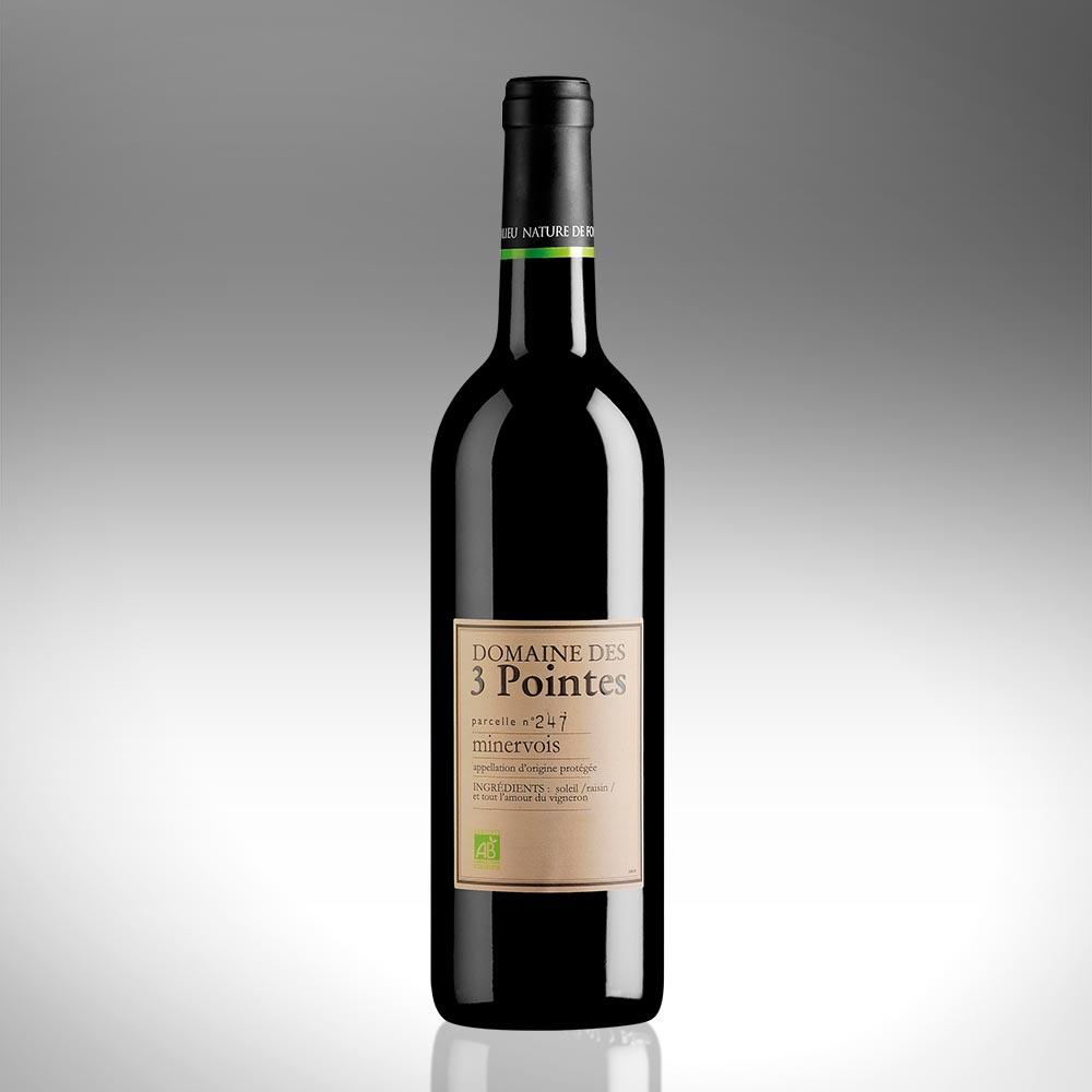 Domaine des 3 Pointes - AOP Minervois - Vin Biologique