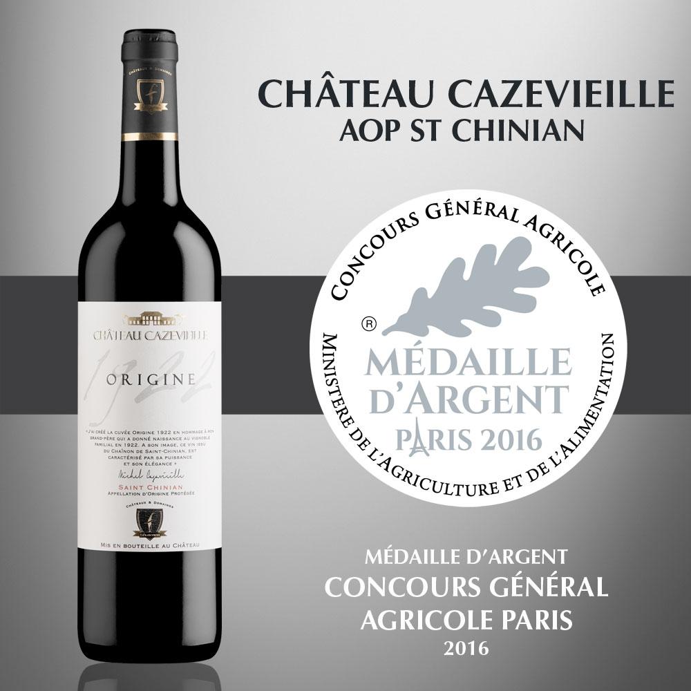 Château Cazevieille - AOP Saint Chinian