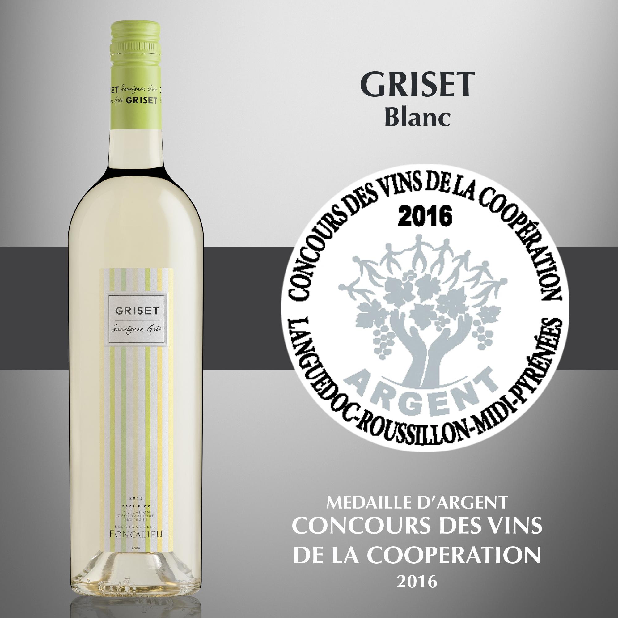 Griset Blanc - IGP Pays d'Oc