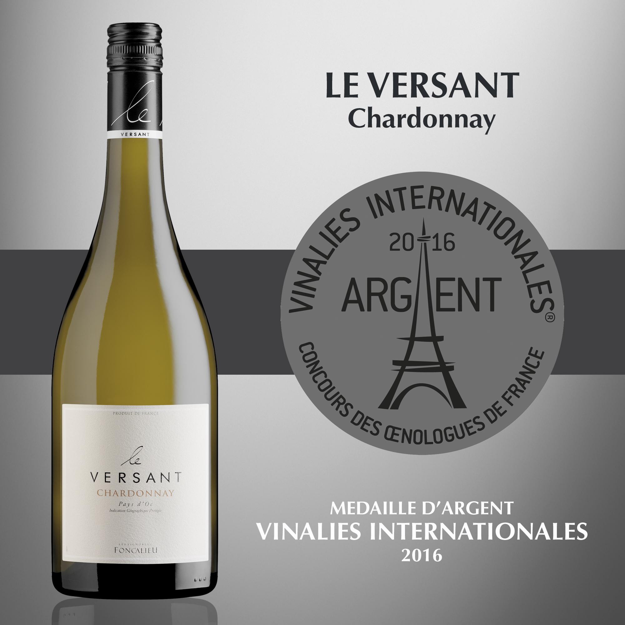Le Versant Chardonnay - IGP Pays d'Oc