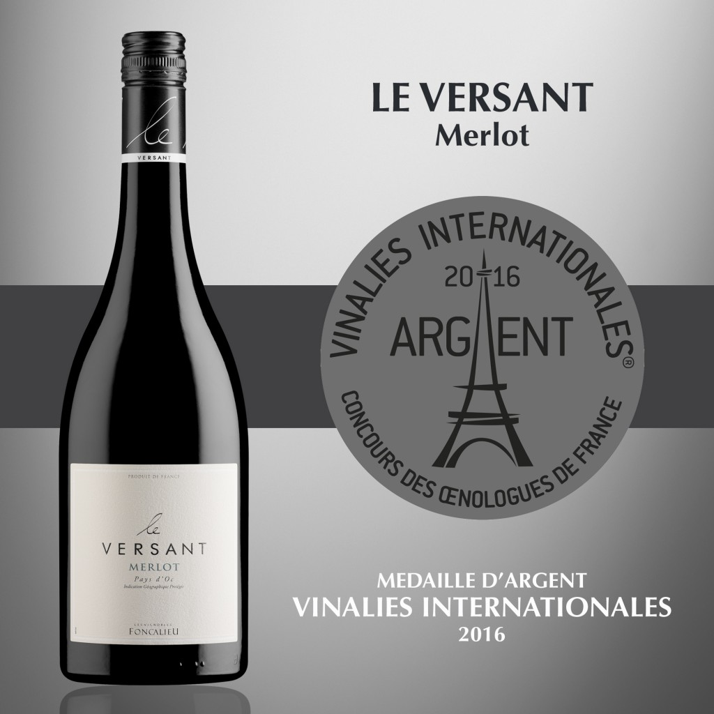 Le Versant Merlot - IGP Pays d'Oc