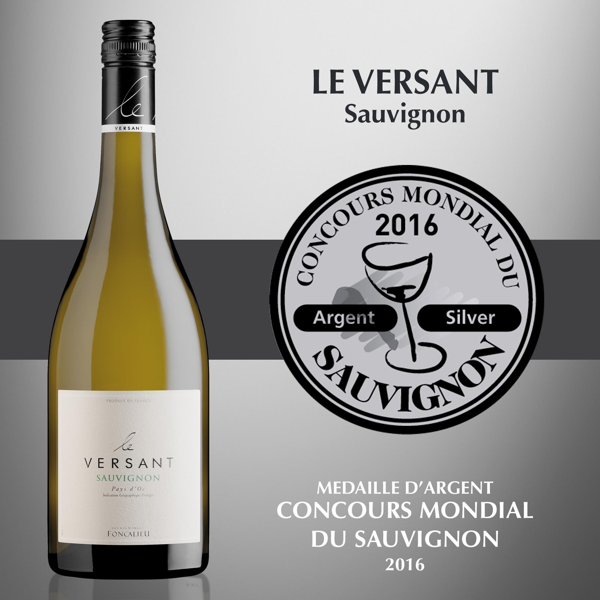Le Versant Sauvignon - IGP Pays d'Oc