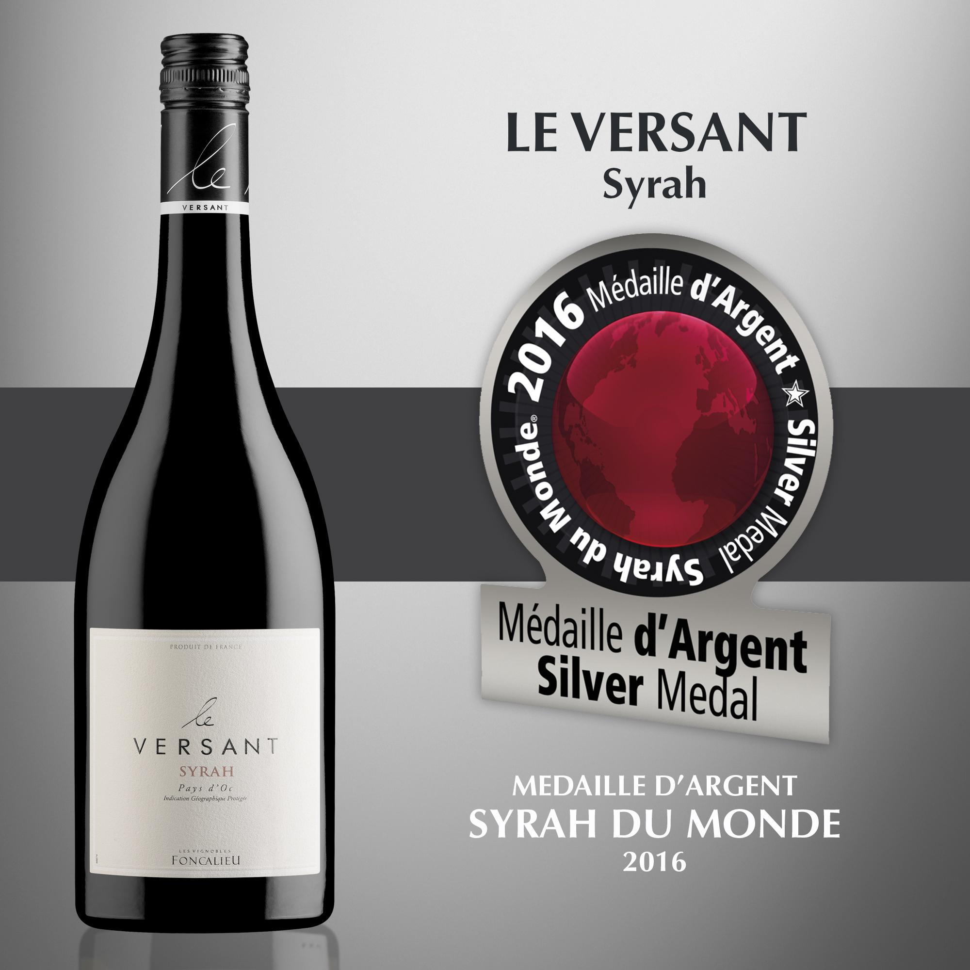 Le Versant Syrah - IGP Pays d'Oc
