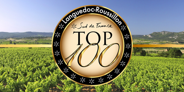 Syrah&Viognier red wine, TOP 100 Languedoc-Roussillon