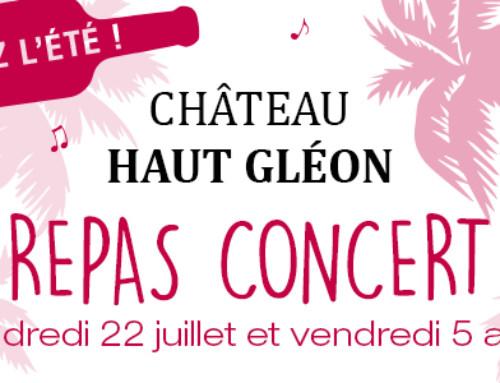 Fêtez l'été au Château Haut Gléon !