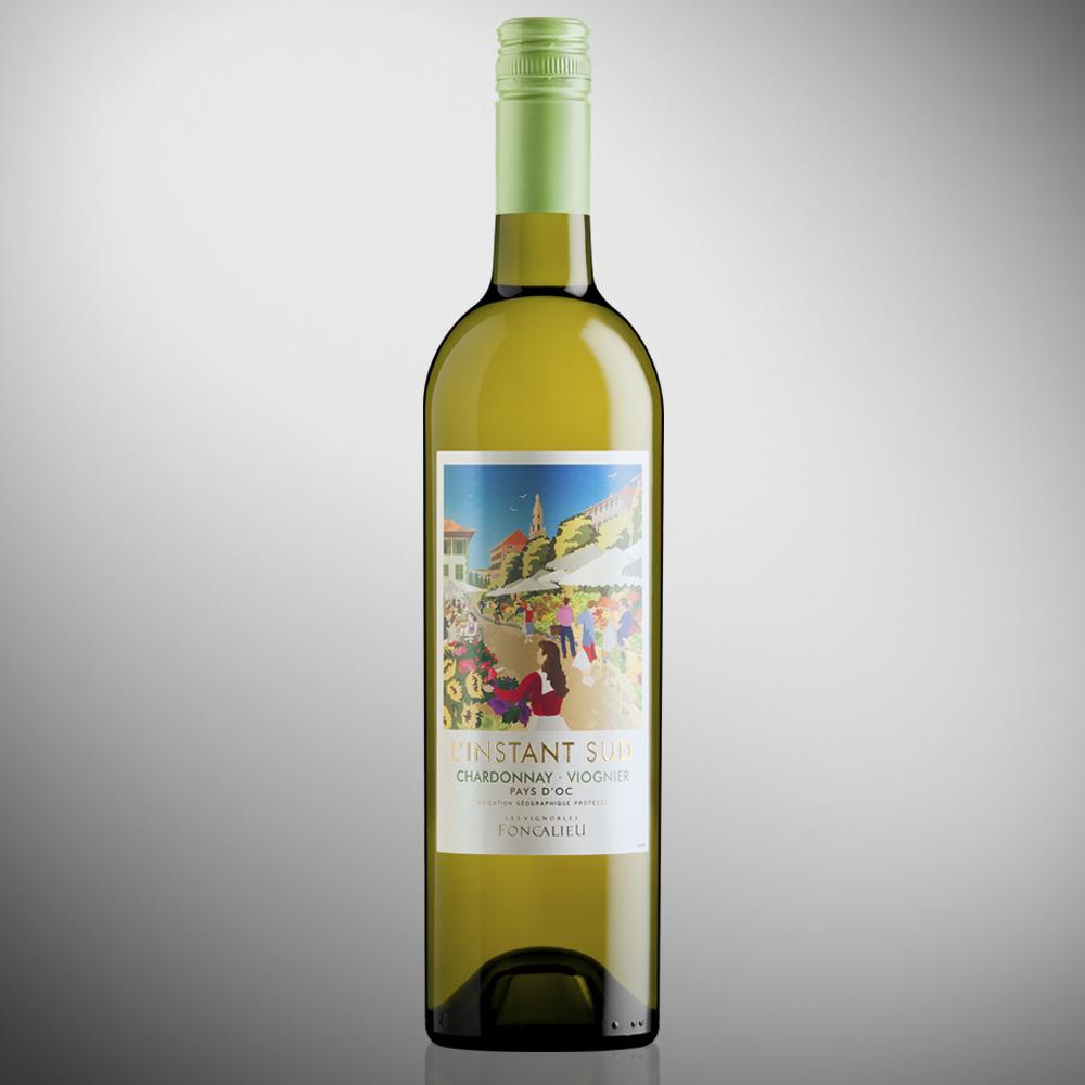L'Instant Sud Chardonnay Viognier - IGP Pays d'Oc