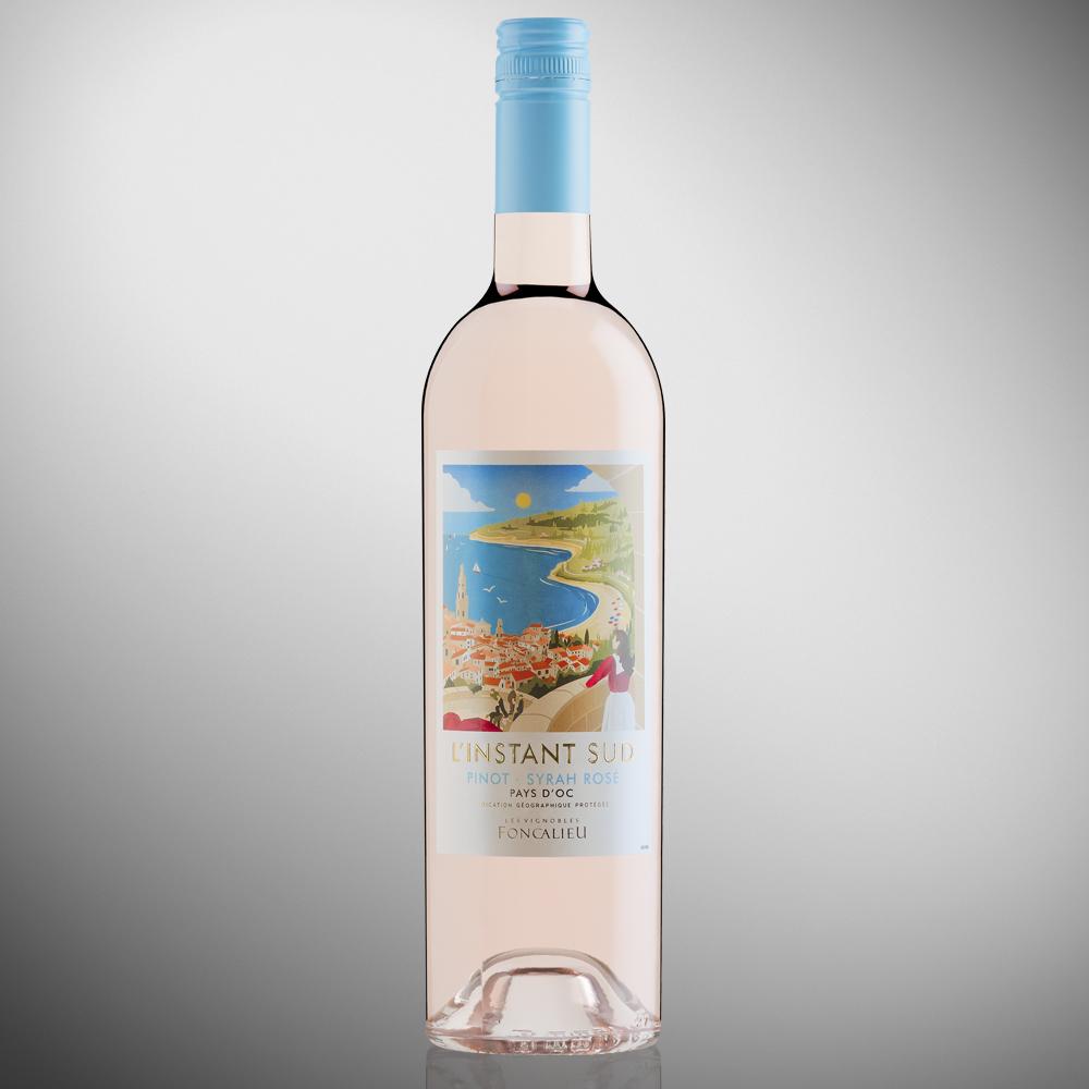 L'Instant Sud Pinot Syrah Rosé - IGP Pays d'Oc
