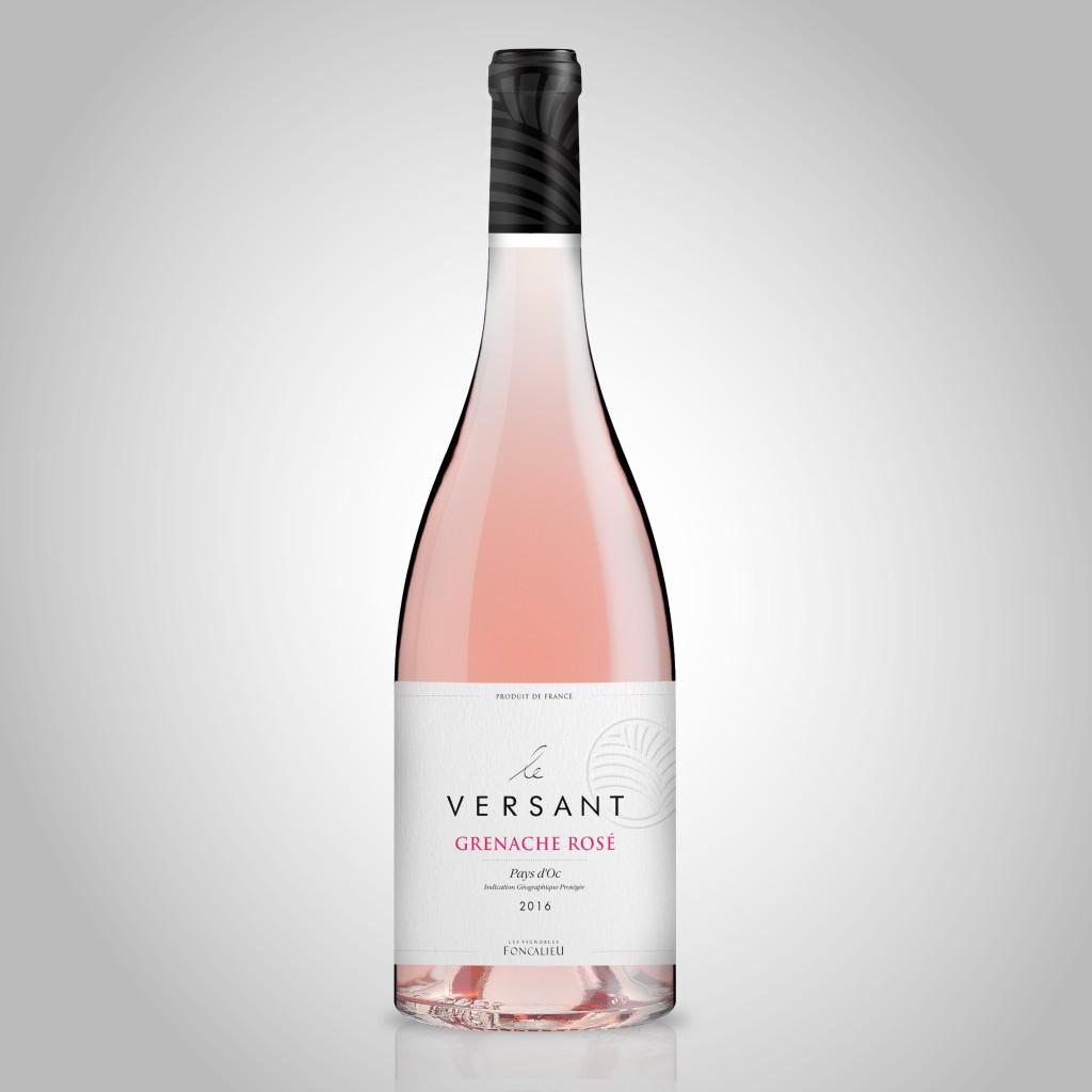 Le Versant Grenache Rosé - IGP Pays d'Oc