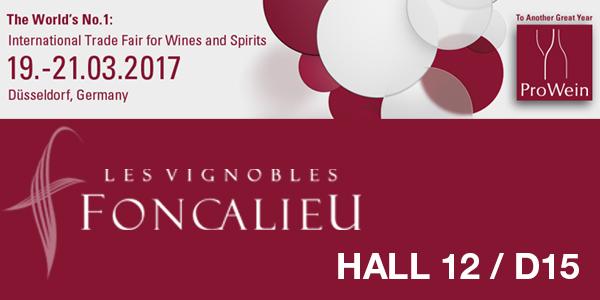 Wine, PROWEIN, HALL 12 Foncalieu