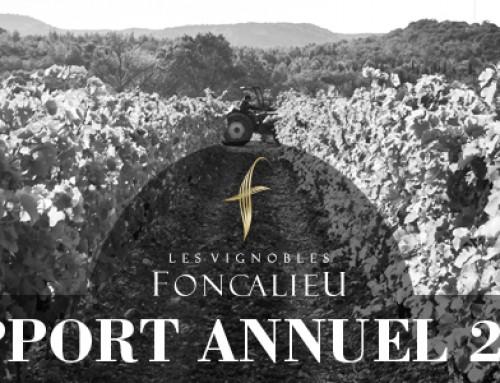 TELECHARGEZ LE RAPPORT ANNUEL 2016 DES VIGNOBLES FONCALIEU
