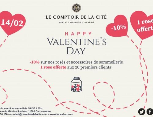Le Comptoir de la Cité fête la St Valentin