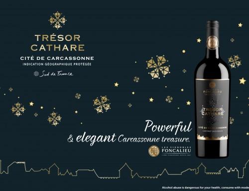 Trésor Cathare, powerful and elegant IGP Cité de Carcassonne