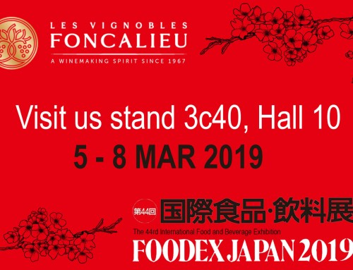 Visit us at Foodex Japan !