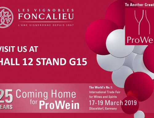 Let's meet at Prowein !