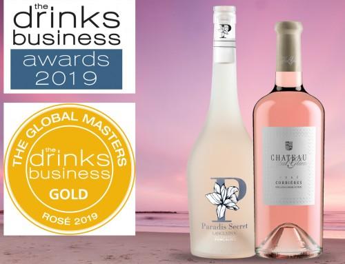 Les rosés Foncalieu ont été récompensés par Drink Business et Patrick Schmitt !