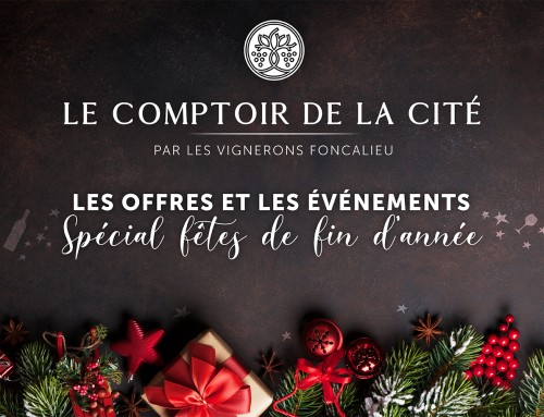 Le Comptoir de la Cité celebrates Christmas !