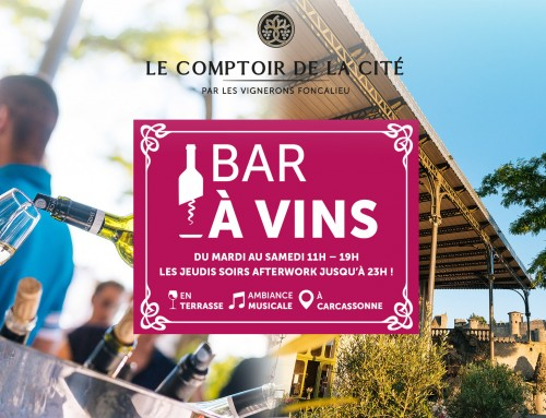 The Wine Bar reopens its doors from Tuesday to Saturday from 11h to 19h!