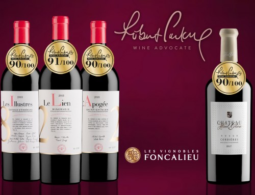 Foncalieu wines remarkably rated by the Wine Advocate