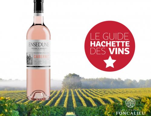Notre rosé Ensedune récompensé par le Guide Hachette des Vins 2021