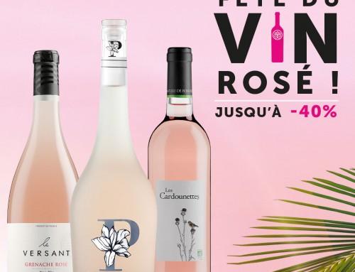 La fête du vin rosé par les vignerons Foncalieu