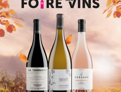 Notre foire aux vins d'automne est lancée